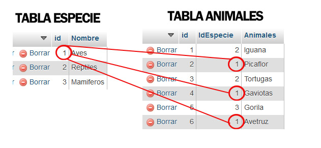 Inner Join PHP ejemplos