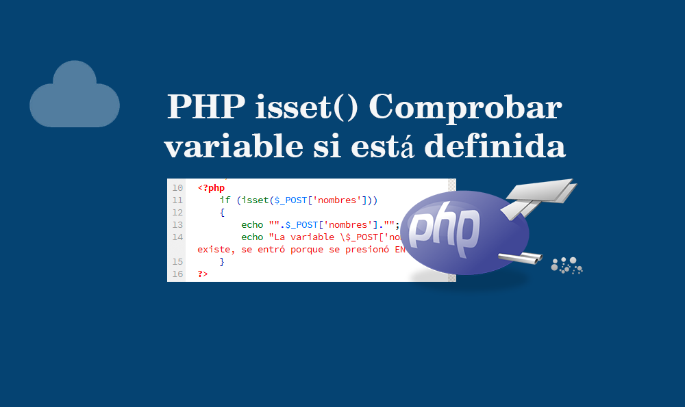 Photo of PHP isset() Comprobar variable si está definida