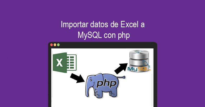 Photo of Importar datos de Excel a MySQL con php