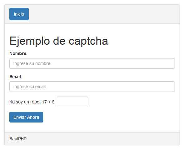 Implementar Captcha