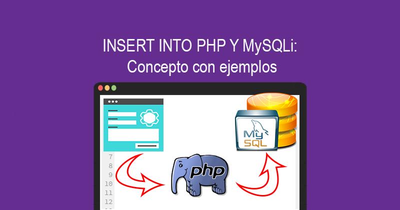 Descargar INSERT INTO PHP & MySQLi