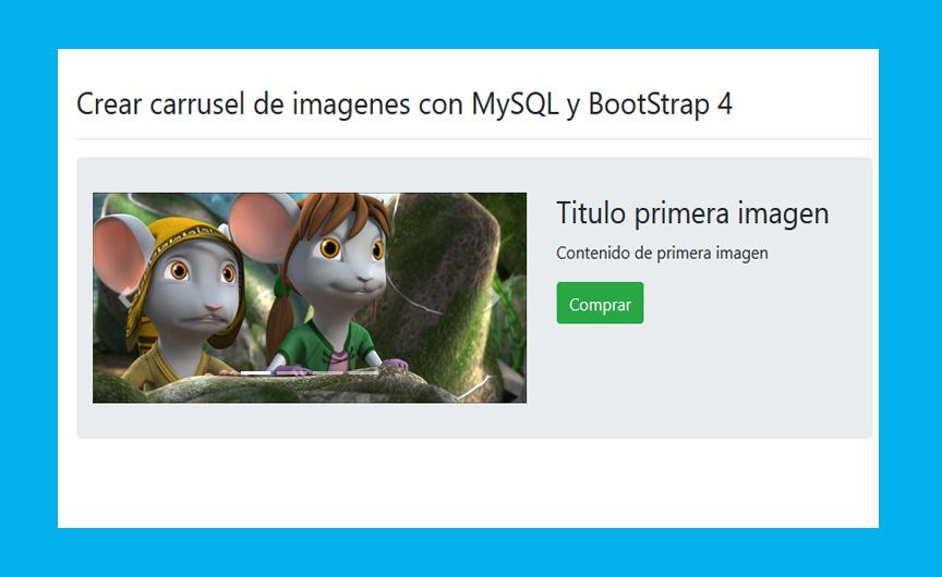 Descargar Slider web usando PHP y MySQL