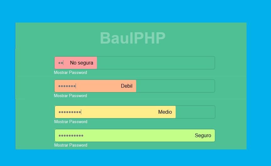 Seguridad en contraseñas con jQuery y JavaScript