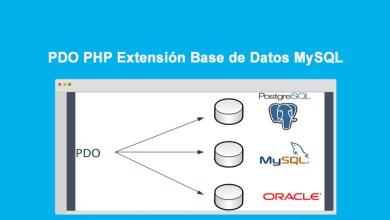 PDO PHP Extensión Base de Datos MySQL
